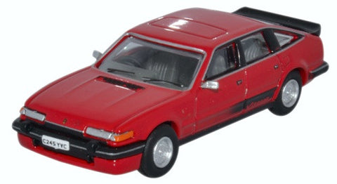 Oxford Diecast Rover SD1 3500 Vitesse Targa Red -1:76 Scale