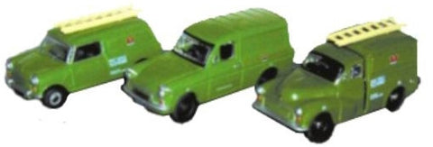 Oxford Diecast Triple Post Office Sets - 1:76 Scale