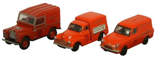 Oxford Diecast Triple Royal Mail - 1:76 Scale