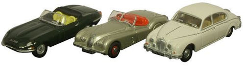 Oxford Diecast Triple Jaguar - 1:76 Scale