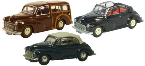 Oxford Diecast Triple Morris Minor Set