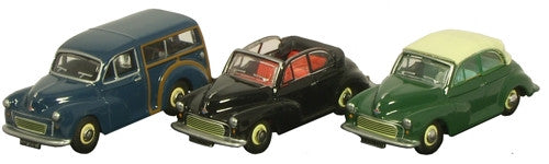 Oxford Diecast Triple Morris Minor - 1:76 Scale