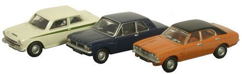 Oxford Diecast Triple Cortinas - 1:76 Scale
