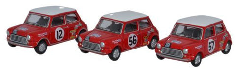 Oxford Diecast Three Piece Mini Set - 1:76 Scale