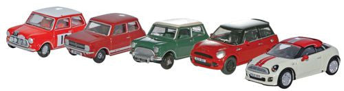 Oxford Diecast Five Piece Mini Set - 1:76 Scale