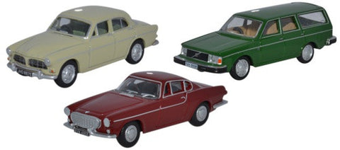 Oxford Diecast 3 Piece Volvo Set - OxfordDiecast