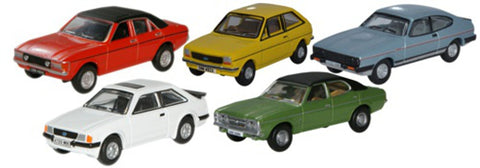 Oxford Diecast 5 Piece Ford Set - OxfordDiecast