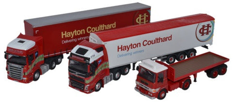 Oxford Diecast Hayton Coulthard Centenary Set  - 1:76 Scale