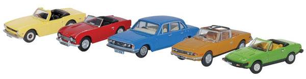 Oxford Diecast 5 Piece Triumph Set
