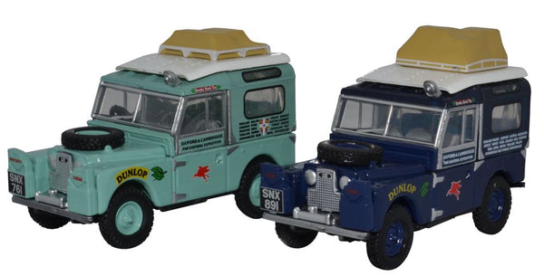 Oxford Diecast 2 Piece Set First Overland