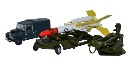 Oxford Diecast Bloodhound Missile Set