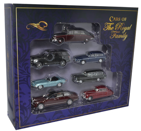Oxford Diecast 7 Piece Royalty Set