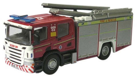 Oxford Diecast Cleveland Fire & Rescue Fire - 1:76 Scale