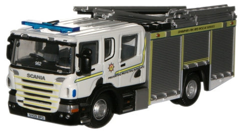 Oxford Diecast Grampian Fire & Rescue Service Scania CP31 Pump Ladder