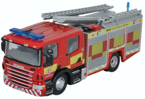Oxford Diecast Scania CP28 Pump Ladder Kent Fire & Rescue Service