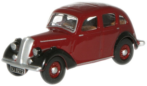 Oxford Diecast Maroon Stand Flying Twelve - 1:76 Scale