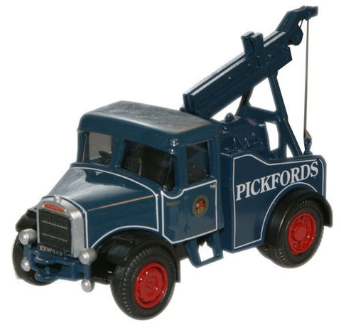 Oxford Diecast Pickfords Scammell Highwayman Crane - 1:76 Scale