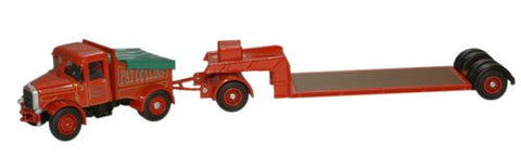 Oxford Diecast Pat Collins Highwayman Ballast & Low Loader - 1:76 Scal
