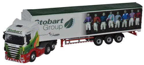 Oxford Diecast Scania Walking Floor Stobart Ascot Champions Day