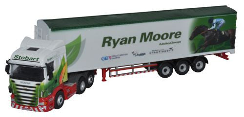 Oxford Diecast Stobart - Ryan Moore - 1:76 Scale