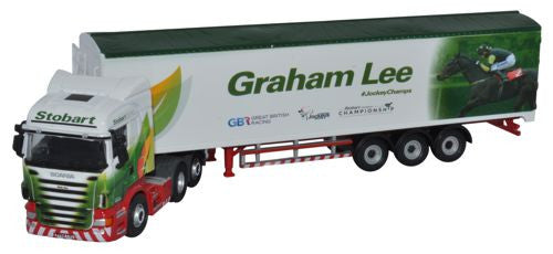 Oxford Diecast Stobart - Graham Lee - 1:76 Scale