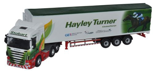 Oxford Diecast Stobart - Hayley Turner - 1:76 Scale