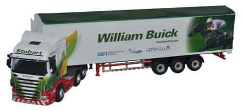 Oxford Diecast Stobart - William Buick - 1:76 Scale