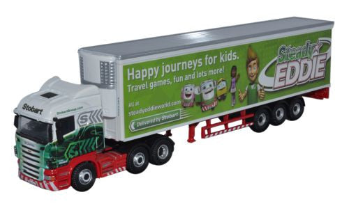 Oxford Diecast Scania Highline Fridge Steady Eddie