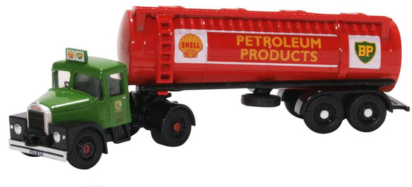 Oxford Diecast Scammell Highwayman Tanker Shell BP