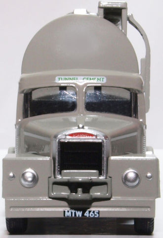 Oxford Diecast Scammell Highwayman Tanker Tunnel Cement