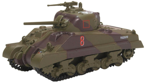 Oxford Diecast Sherman MKII 18 Arm.reg -4th Nz Arm.brg.italy 1944