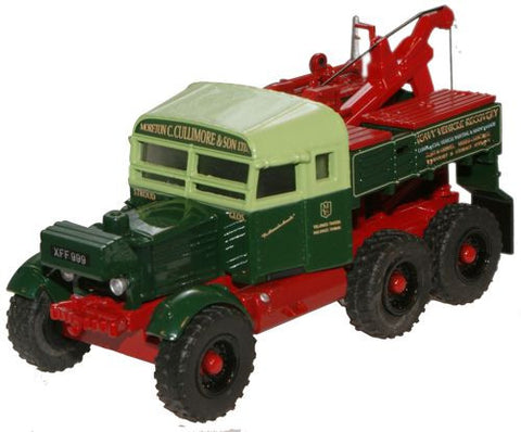 Oxford Diecast Moreton C Cullimore Pioneer Recovery Tractor - 1:76 Sca
