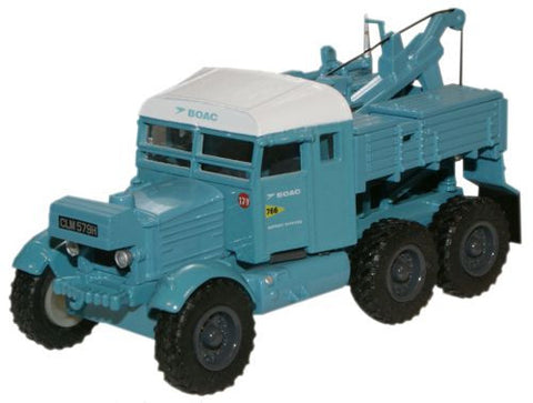 Oxford Diecast B.O.A.C. Pioneer Recovery Tractor - 1:76 Scale