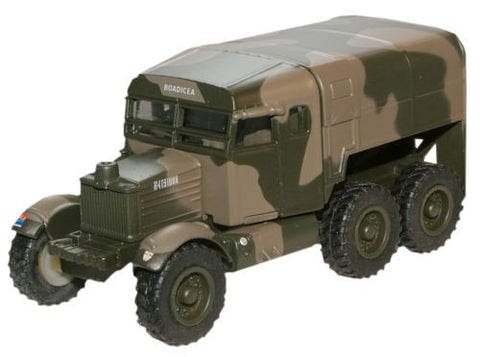 Oxford Diecast Royal Artillery 1st Army Pioneer Artillery Tractor - 1: