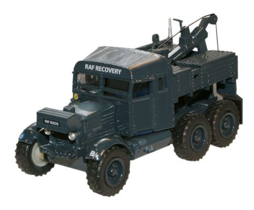Oxford Diecast RAF Scammell Pioneer Recovery Tractor - 1:76 Scale