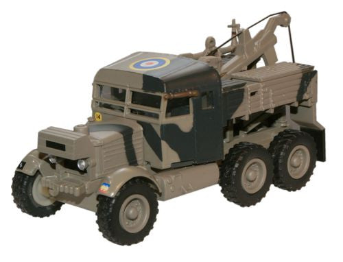 Oxford Diecast 6th Armoured Division - Italy Scammell Pioneer Recovery - OxfordDiecast