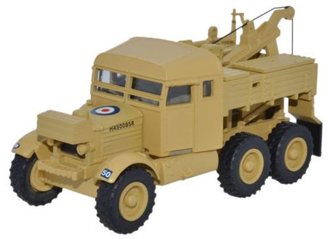 Oxford Diecast Scammell Pioneer 1st Armoured Divison - 1:76 Scale