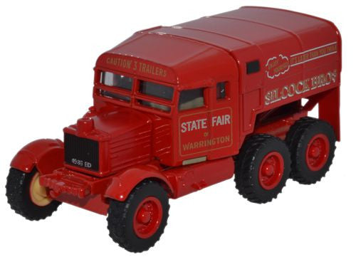 Oxford Diecast Scammell Pioneer Silcock Bros - 1:76 Scale