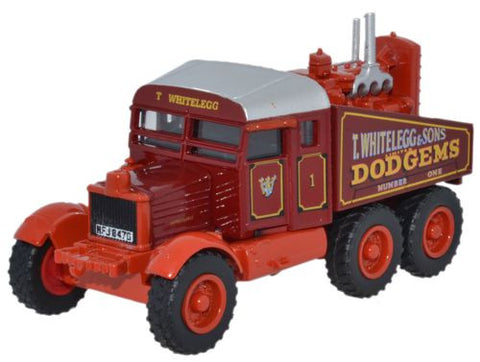 Oxford Diecast Scammell Pioneer Whiteleggs with Tow Hook - 1:76 Scale