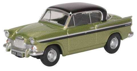Oxford Diecast Sunbeam Rapier MKIII Light Green Metallic Embassy Black