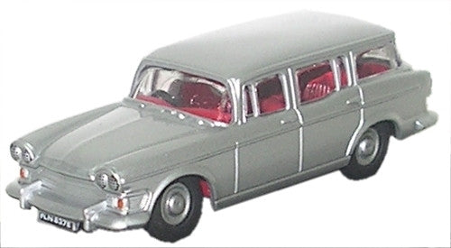 Oxford Diecast Humber Super Snipe Estate Silver Grey - 1:76 Scale