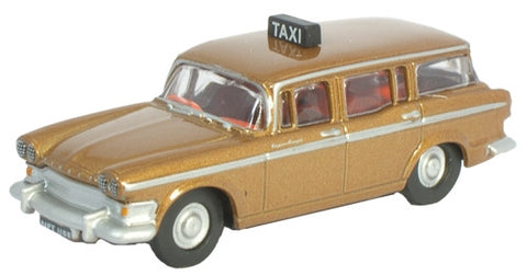 Oxford Diecast Humber Super Snipe Estate Taxi Brown - 1:76 Scale