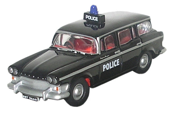 Oxford Diecast Humber Super Snipe Estate Police - 1:76 Scale