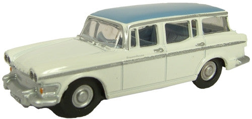 Oxford Diecast Humber Snipe Foam White/Windsor Blue - 1:76 Scale