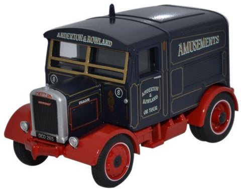 Oxford Diecast Scammell Showtrac Anderton & Rowland (Dragon) - 1:76 Sc