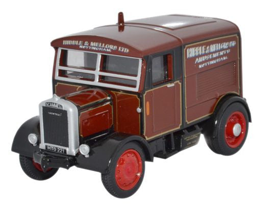 Oxford Diecast Hibble & Mellors Ltd Scammell Showtrac - 1:76 Scale