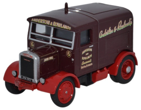 Oxford Diecast Scammell Showtrac Anderton & Rowland - John Bull - 1:76