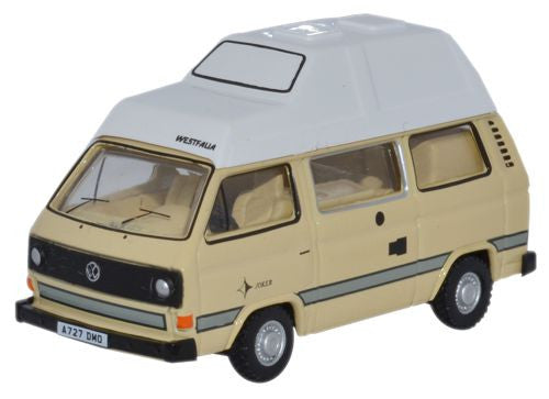 Oxford Diecast Ivory VW T25 Camper - 1:76 Scale