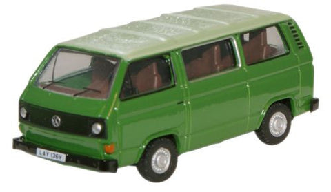 Oxford Diecast Lime Green/Saima Green VW T25 Bus - 1:76 Scale
