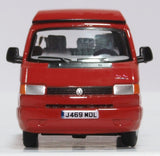 Oxford Diecast VW T4 Westfalia Camper Paprika Red